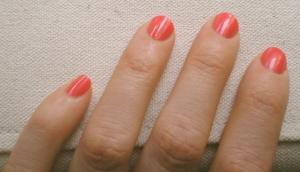 Mango-Get-Em polish on nails