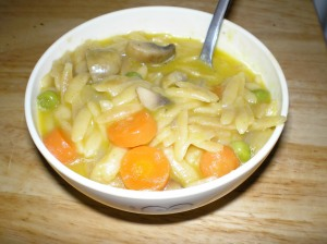 vegetable orzotto