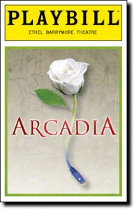 Arcadia playbill