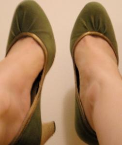 faryl robin green pumps
