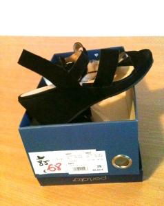 Black French heels
