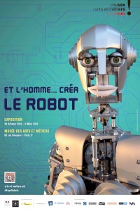 Robot exhibit musee arts métiers